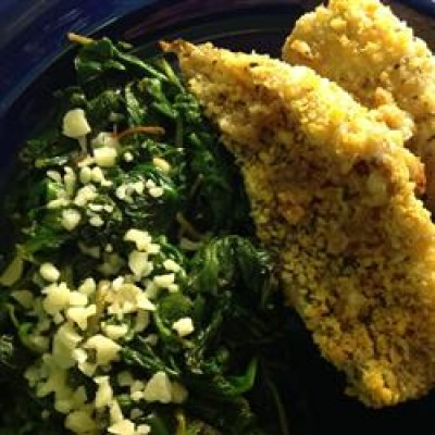 Baked Butter Herb Perch Fillets